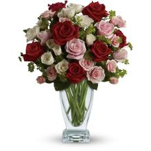 Cupid\'s Creation with Red Roses by Teleflora