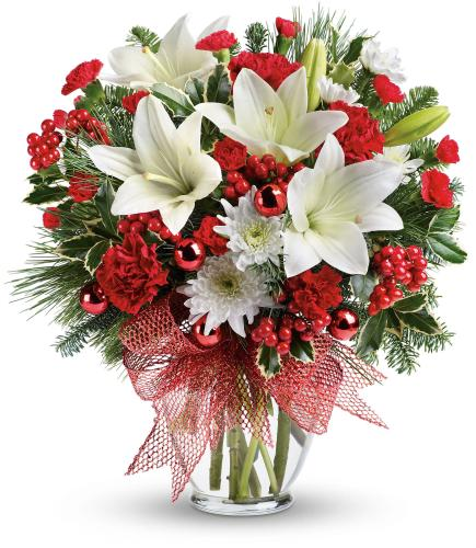 Merry All The Way Bouquet