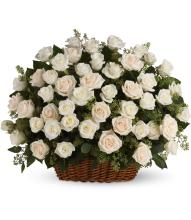 Bountiful Rose Basket by Teleflora