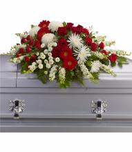 Strength and Wisdom Casket Spray by Teleflora