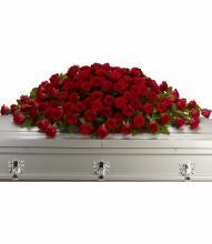 Greatest Love Casket Spray by Teleflora