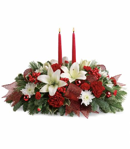Yuletide Magic Centerpiece