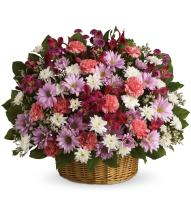 Rainbow Reflections Basket by Teleflora