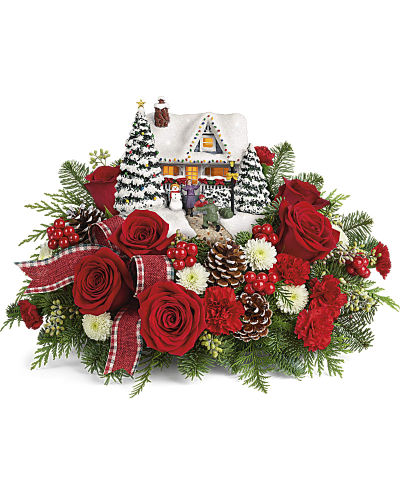 Thomas Kinkade\'s Hero\'s Welcome Bouquet