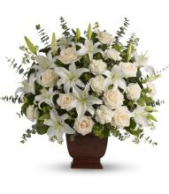 Teleflora\'s Loving Lilies and Roses Bouquet